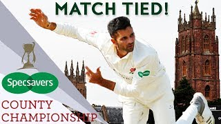 Unbelievable Match TIED For The First Time Since 2003 | County Championship 2018 - Highlights