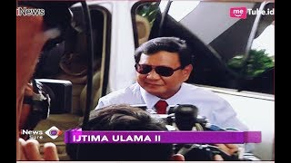 Berkaca Mata Hitam, Gaya Prabowo Hadiri Ijtima Ulama II - iNews Sore 16/09