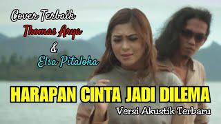 Download THOMAS ARYA - HARAPAN CINTA JADI DILEMA ( Akustik Version Cover ) Not Official Video HD with Lyrics