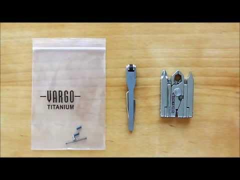 Vargo How-To: Replacing the Flint in the Titanium Flint Lighter