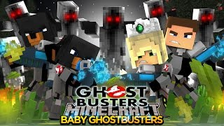 Minecraft - Donut the Dog Adventures -BABY MAX IS ATTACKED BY SCARY GHOSTS!!
