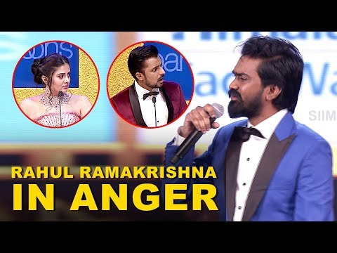 Arjun Reddy Fame Rahul Ramakrishna Walks out in Anger