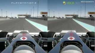 F1 2012 Demo - PS3 vs Xbox 360 - Graphics Comparison
