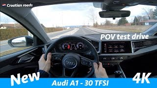 Audi A1 30 TFSI Advanced 2019 - POV test drive in 4K | No talking just driving