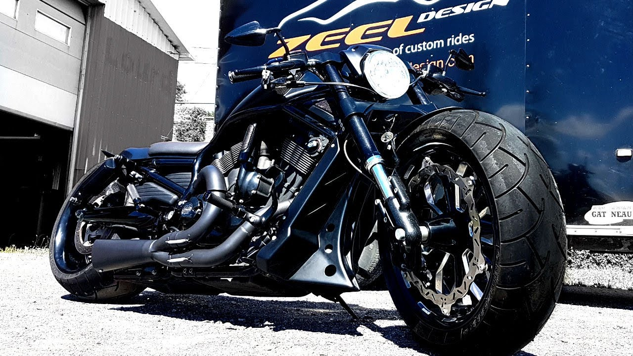 ? Harley-Davidson® #VRod #Custom by ZEEL Design
