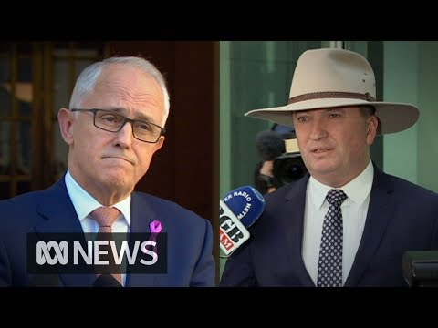 Turnbull and Joyce trade barbs over Deputy's extramarital affair