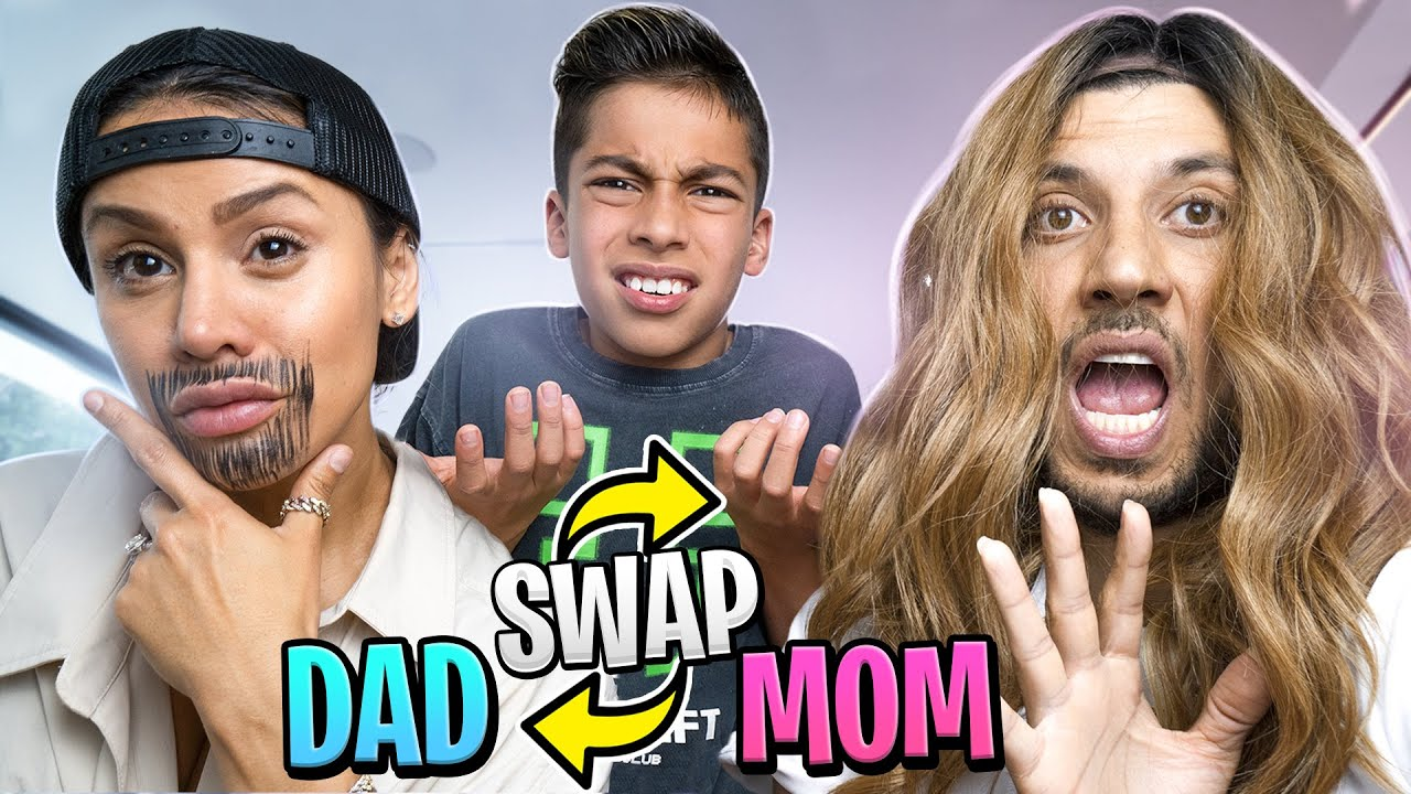 Mom and Dad SWAP LIVE'S For 24 Hours! (BAD IDEA) | The Royalty Family