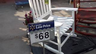 Walmart Adirondack and Rocking Chairs Spring 2017!!! High Quality