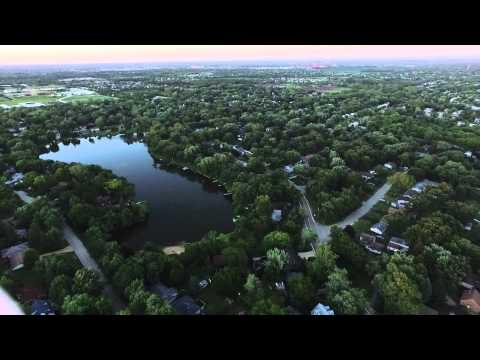 Wildwood, IL From The Sky