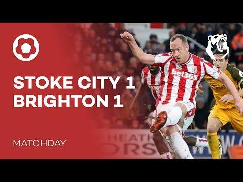 STOKE CITY 1-1 BRIGHTON   Matchday   The Bear Pit TV