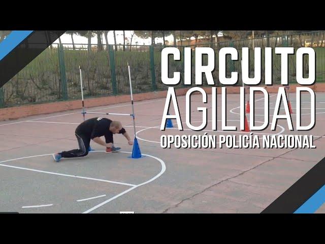 Circuito Agilidad Cnp : Especial oposiciones cnp ii el circuito de agilidad