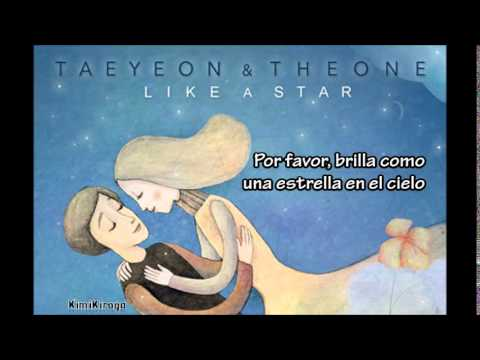 SNSD(Taeyeon) & The ONE - Like a Star -SUB ESPAÑOL-