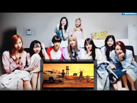 160425 TWICE 트와이스 - Cheer Up MV REACT @ DORM