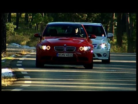 BMW M3 vs. Mercedes C 63 AMG