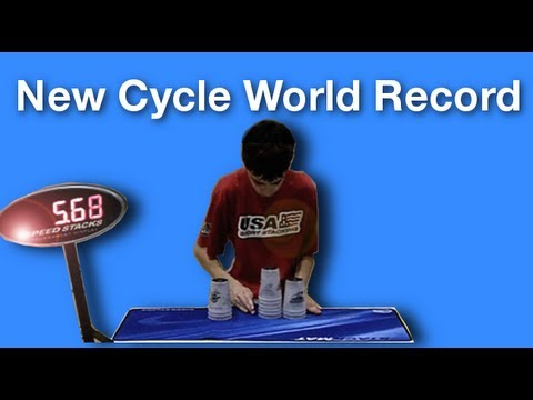 William Orrell 5.68 Cycle World Record!