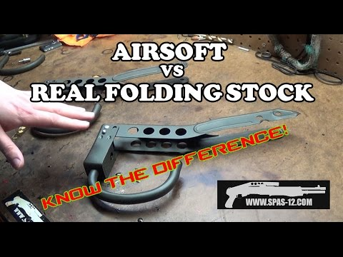 Tokyo Marui vs Franchi Folding Stocks - Know the difference!