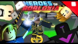 "I AM A SUPER HERO! | Roblox ""Heroes of Robloxia"""