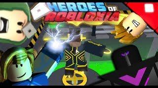 """Je suis un SUPER HERO! Roblox """"Héros de Robloxia"""""""