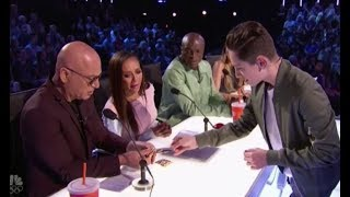 Henry Richardson: Creates SHOCKING Magic Under Judges Noses! America's Got Talent 2017