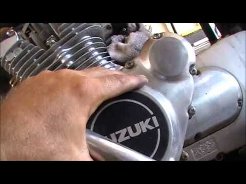 Quickie Suzuki GS 650/750/850 stator replacement - YouTube
