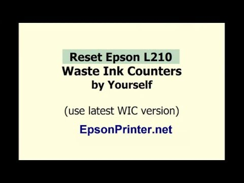 WIC Reset Key Serial - Epson Adjustment Program