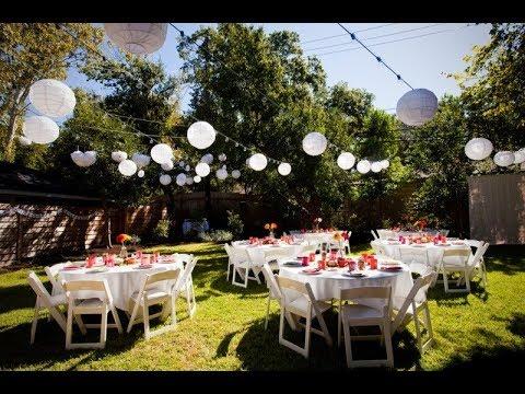 Backyard Graduation Party Ideas