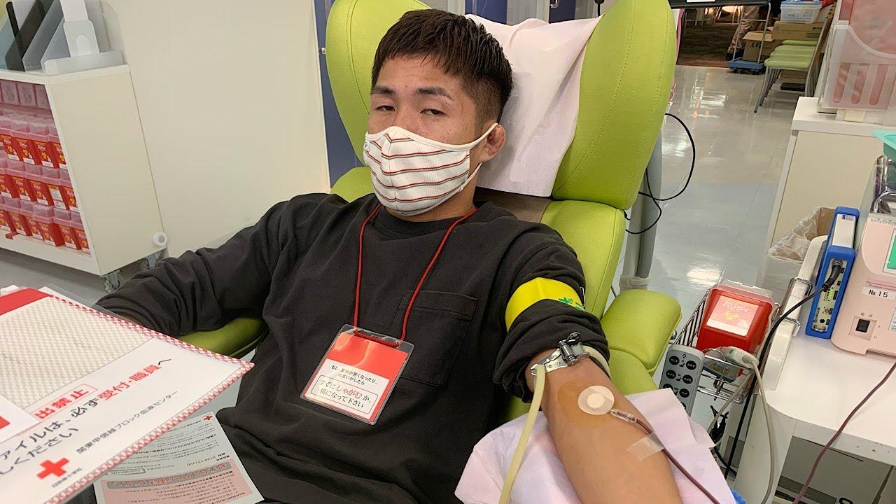 僕は献血をしてただけなのに‥
