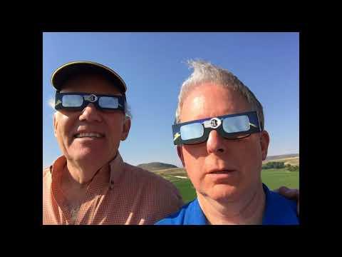 Solar Eclipse 2017 in Douglas Wyoming Rev1