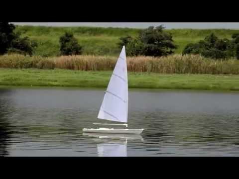 Rc Laser Sailboat On Saiko Youtube