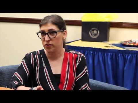 Mayim Bialik Interview Clip