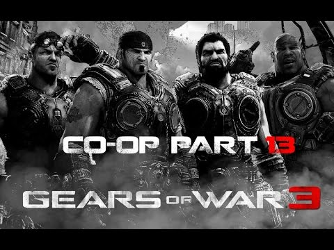 Gears of War 3 Co-op Gameplay part 13