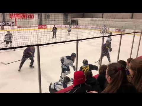Highschool Hockey fight