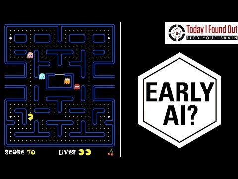 How Do the Ghosts in Pac-Man Decide Where to Go?