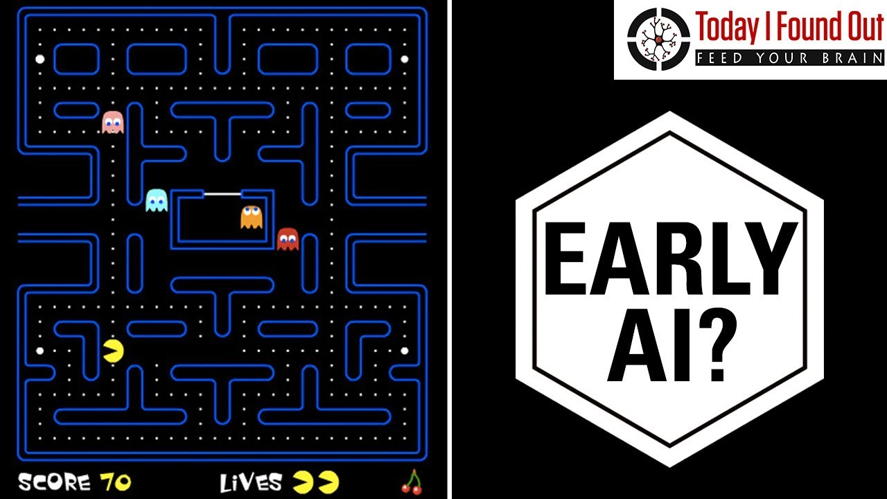 how do the ghosts in pac man decide where to go youtube