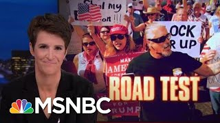 President Trump Attack On FL Election Legitimacy Drawn From 2016 Playbook | Rachel Maddow | MSNBC