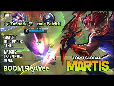 Martis Brutal Roaming Gameplay by BOOM.SkyWee Top 1 Global Martis ~ Mobile Legends
