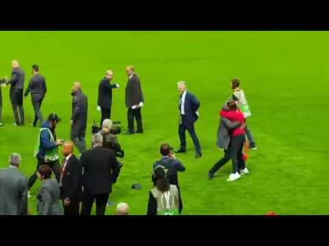 Jose mourinho celebration after wining europa league & eric bailly's dance video