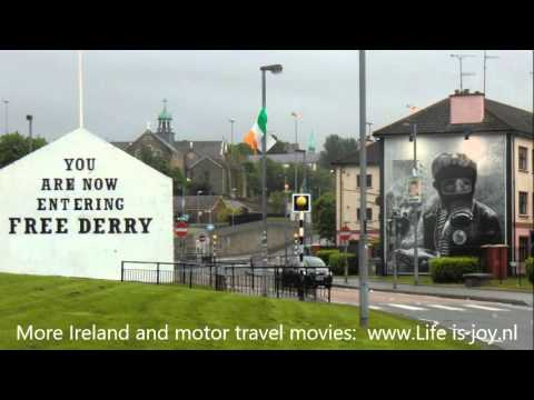 Londonderry Derry City Sightseeing Northern Ireland LV