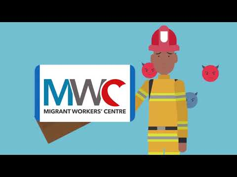 Migrant Workers' Centre - How We Help Migrant Workers