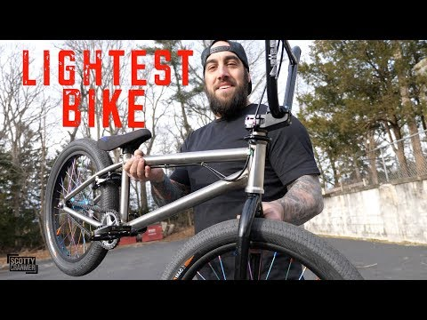 Building The Lightest Bike Possible!