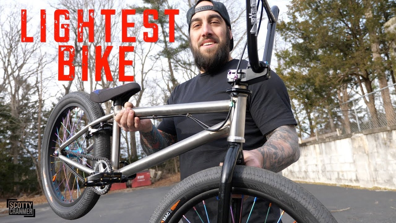 Building the lightest BMX bike - Scotty Cranmer & Brooklyn