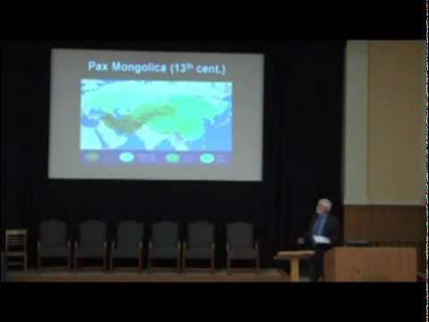 """ΦBK Visiting Scholar Ronald Mellor on 'East Meets West: Encounters Along the Ancient """"Silk Road""""'"""