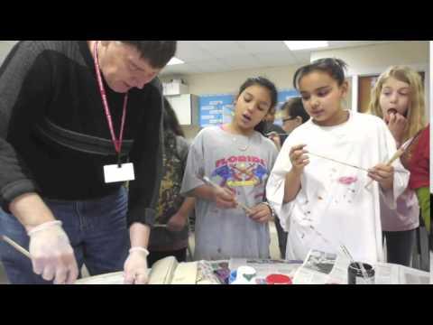 AIE Partner Allentown Art Museum TAP at Freemansburg Elementary School