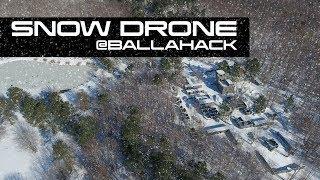 Snow DRONE at Ballahack Airsoft Field
