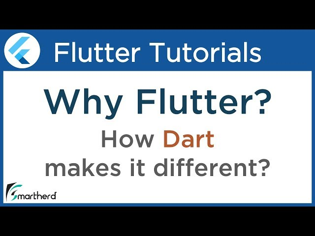 #1.1 Flutter Tutorial Dart: Why develop Android and iOS apps using Flutter? Introduction to Flutter