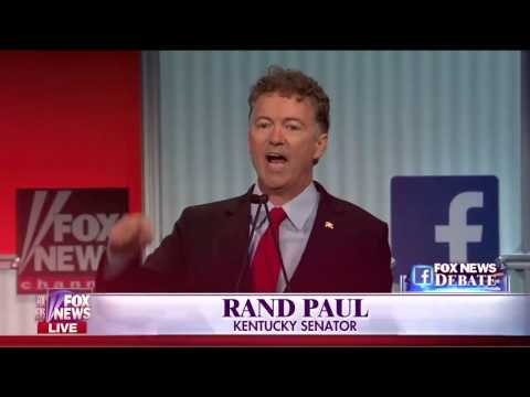 Rand Paul GOP Debate Highlight Reel