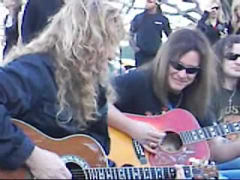 MEGADETH Acoustic Live Angry Again Argentina Plaza Francia Buenos Aires October 08 2005