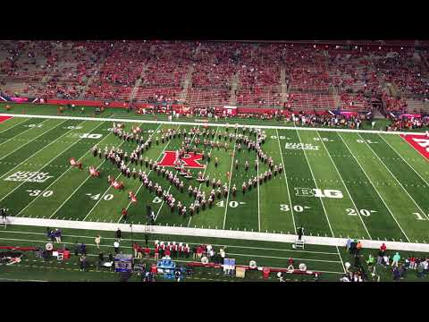 Rutgers University Marching Band Pregame Show - U of Washington 2017