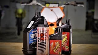 Great 2 stroke premix oil for your dirt bike - Synthetic with Castor