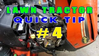 Lawn Tractor Tip #4 - Rodent